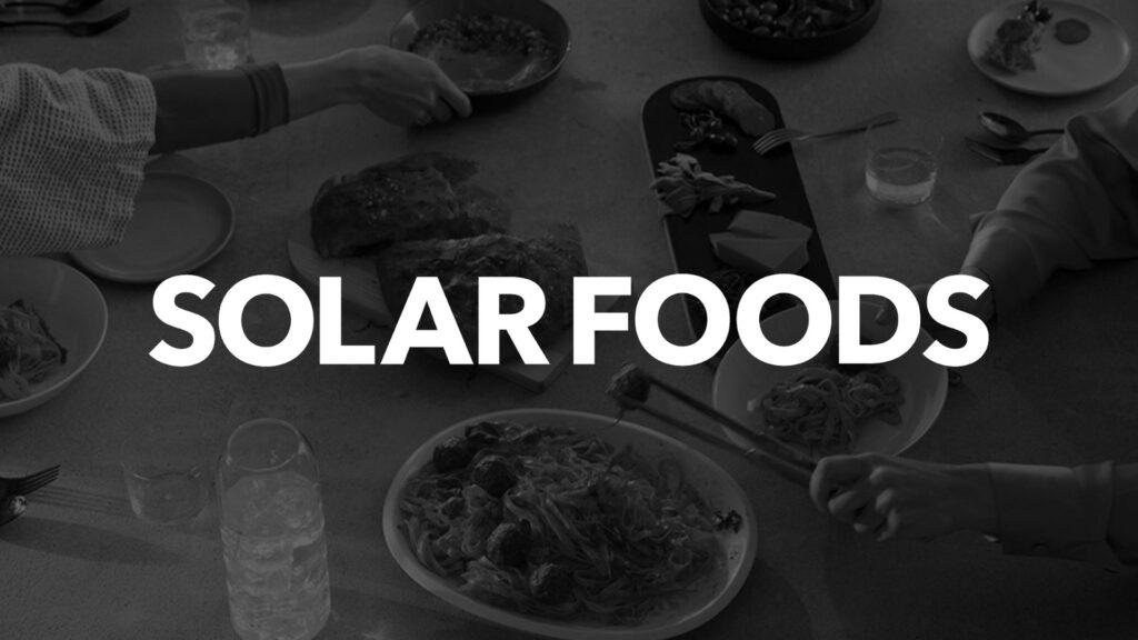Solarfoods rahoituskohde